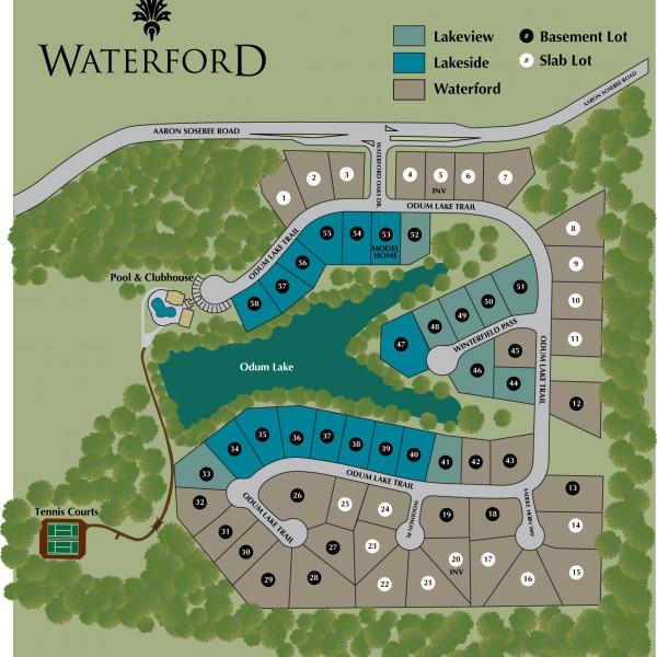 Waterford2016_AugLegend_SitePlan